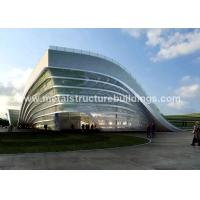 Best Luxury Prefabricated Steel Structures , Steel Frame Home Construction For Classrooms wholesale