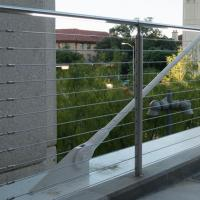 Best Low Price Stainless Steel Cable Railings Stainless Steel Staircase Railing Designs wholesale