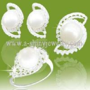 Best 2011 Fashion Pearl Jewellery Set (RSC5224B) wholesale