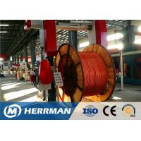 Best Metal Sheathing Cable Armouring Machine For High Voltage Power Cable wholesale
