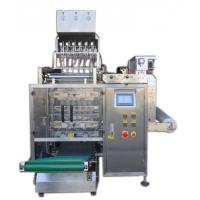8 Lanes Automatic Liquid Packing Machine For  Water / Detergent , 3 / 4 Sides Seal Type