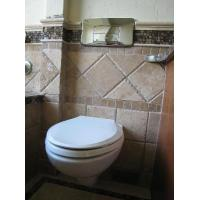 Cheap White Ceramic Finish Stylish Space Saving Design with a Modern Look inc. Soft for sale