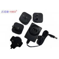 Best 18V 500mA Interchangeable Power Supply PC ABS Material Short Circuit Protection wholesale