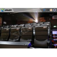 Best Commercial Theater 4D Movie Equipment With Electric System Motion Chair wholesale