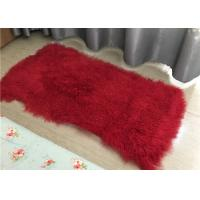 Best curly lambskin hide pelt sheep fur wool rug lambskin sheepskin throw tibetan lambskin white blanket wholesale
