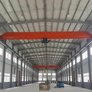 Best 15 Ton Single Girder Eot Crane 30m Max Lifting Height Electric Motors Driving wholesale