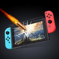 Buy cheap Transparent Protective Film Nintendo Switch Parts for Tempered Glass Protector from wholesalers