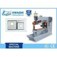 China Sink Stainless Steel Welding Equipment , Rolling Automatic Spot Welding Machine on sale