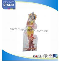 Cheap Creative Cardboard Display Standing Displays With 4C Offset Printing For Advertising wholesale