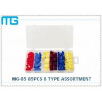 Best 6 Types Terminal Assortment Kit MG - 85 85 Pcs For Machinery / Spinning CE Approval wholesale