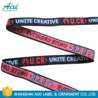 Best Nylon / Polyester / Cotton Soft Underwear Jacquard Elastic Waistband Reflective Tape wholesale