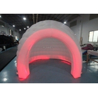 Best 3m White Oxford Cloth Inflatable Bubble Igloo Dome Tent With Led Light wholesale