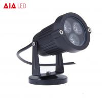 Best IP40 round D95mm black 45degree lens indoor 1x3W LED gardenl lights for hotel wholesale
