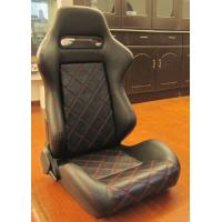 Cheap Double Or Single Slider Sport Racing Seats / Automotive Racing Bucket Seats for sale