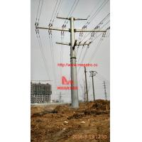 110KV-35KV-10KV double circuit tension pole