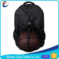 Best Durable Economical Custom Sports Bags Design Stylish With Mesh Ball Pocket wholesale