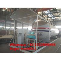 China 20m3 skid lpg gas plant with digital scales and compressor for sale, factory sale skid lpg gas plant with compressor on sale