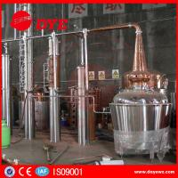 Best Yellow Copper Wine Making Machine CE Commercial Distilling Equipment wholesale