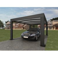Best Anthracite Garden Shade Netting / Carport Cubus Single Genua Induction Garage wholesale