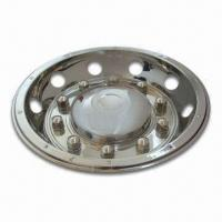 Buy cheap 22.5-inch Stainless Steel Wheel Cover for Rear Wheel from wholesalers