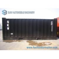 Best Professional 20 Feet 29000L Asphalt Tank Trailer With Heating System wholesale