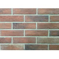 Quality Durable Heat Resistant Artificial Wall Thin Veneer Brick Tiles For Outdoor 12mm Thickness wholesale