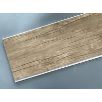 Best Wood Color Plastic Laminate Wall Covering , Pvc Laminated Ceiling Board wholesale