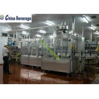 Best Energy Drink Water Bottle Filling Machine , Carbonated Soft Drink Production Line wholesale
