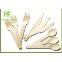 Best 100% Natural Wooden Retail Eco Friendly Cutlery 100 Forks 100 Knives 100 Spoons wholesale