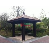 Best Moisture Resistance Pre Made Gazebos , Rotproof Deck Gazebo Kits High Grade wholesale