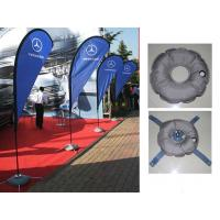 Best Teardrop Outdoor Marketing Flags 2.8 - 5.5m Chrome - Plated Iron Spike wholesale