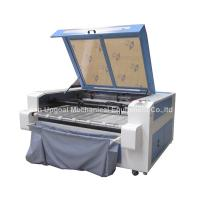 Cheap Double Heads 1600*1000mm Co2 Fabric Laser Cutting Machine for sale