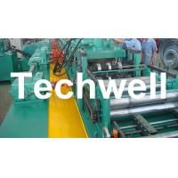 Best YX-86-194-312 W Beam Guardrail Roll Forming Machine For 2 - 4mm Material Thickness wholesale