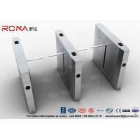 Best High Speed Drop Arm Turnstile , Magnetic Card Stainless Steel Access Control System wholesale