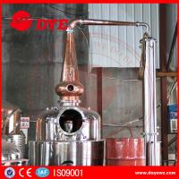 Best Stainless Steel Home Alcohol Distiller Red Copper Bubble Caps And Column Plates wholesale