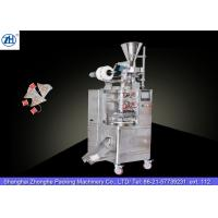 Best Small Automatic Tea Bag Packaging Machine 1.1 Kw 380v For Triangle Shaped Tea Bags wholesale