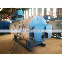 Best Perfect 4 Ton Natural Gas Fired Steam Boiler WNS 4-1.25-YQ  Industrial Fire Tube wholesale