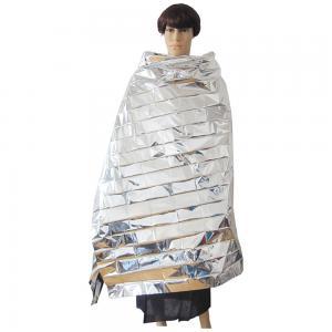 Quality Waterproof Portable Emergency Blanket in Silver wholesale
