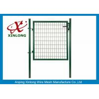 Best Beautiful Design Welded Fence Gate Iron Wire Material Convenient Installation wholesale