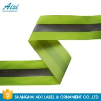 Best 100% Polyester Ribbons Reflective Safety Tape Single Sided With Offer Printing wholesale
