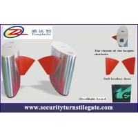 Best Deluxe Infrared Automatic Flap Barrier Gate for hotel / building , bi - directional wholesale
