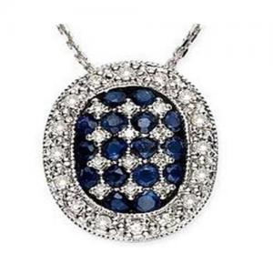Best Sapphire & Diamond Pendant wholesale