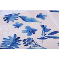 Best Digital Inkjet Printing / Cotton Canvas Fabric With Beautiful Pattern wholesale