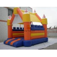 Best PVC Tarpaulin Inflatable Castle Bouncer / Slide Advertising Of Entertainments wholesale