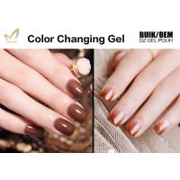 Best No Layering Thermal Color Changing Nail Polish , Healthy Mood Nail Polish Gel wholesale