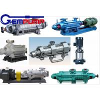 Best DG 85-67 Multistage High Pressure Pumps single-suction / boiler water feed pump wholesale
