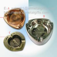 Buy cheap Metal advertising branded cigar ashtray for sale, die casted alloy souvenir from wholesalers