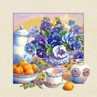 Cheap Waterproof Flower Images 5d 3D Lenticular Pictures 40x40cm For Restaurant for sale