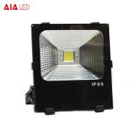 Buy cheap Aluminum waterproof IP66 white/black COB 50W LED Flood lights for park from wholesalers