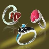 Buy cheap 925 Sterling Silver Finger Semi-Precious Stone Ring (RSK90233) from wholesalers